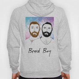 Beard Boy: Buttons and Snaps Hoody