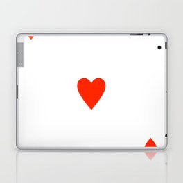 Ace of hearts Costume Halloween Deck of Cards - playing card Laptop & iPad Skin