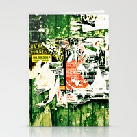 posters Stationery Cards featuring posters 2 by Renee Ansell