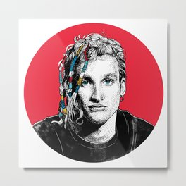 Mr Layne Staley Metal Print