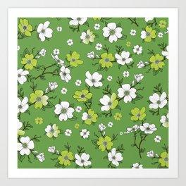 Lovable Flowers Art Print