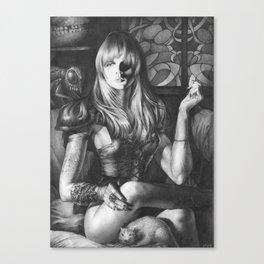 Princess Of Hell Canvas Print