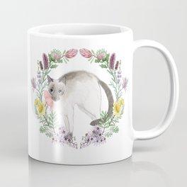 Pixie the Chocolate Siamese Cat Coffee Mug