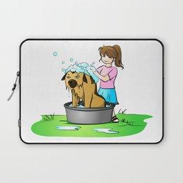 bath day Laptop Sleeve