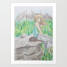 Oh the Sights you See Art Print