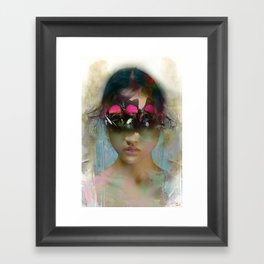 The first time I saw you Framed Art Print