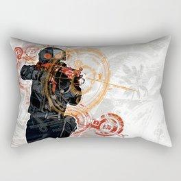 sv_cheats 1 Rectangular Pillow