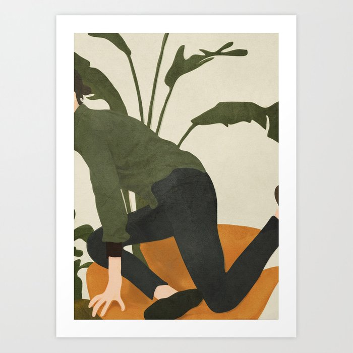 Get me out of Here Art Print