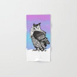 Barred Owl Hand & Bath Towel
