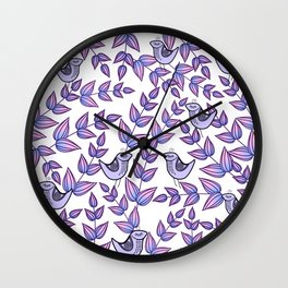 pattern 53 Wall Clock