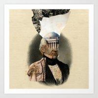 warrior Art Prints featuring Warrior by DIVIDUS