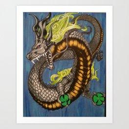 Spirit Dragon Art Print