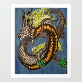 Spirit Dragon Art Print