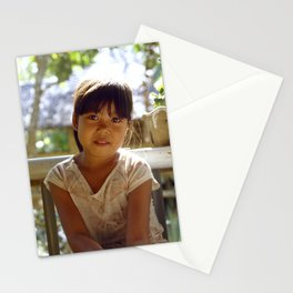 A Glowing Portrait Stationery Cards