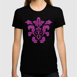 Fuchsia Damask T-shirt