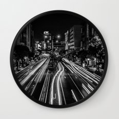 Naha Traffic Wall Clock