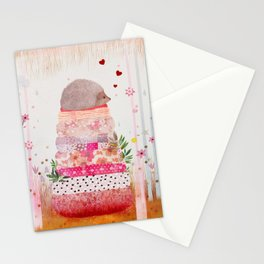 Milla the Hedgehog Stationery Cards