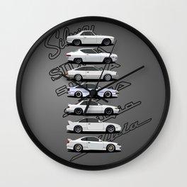 Silvia Generations Wall Clock