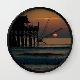 Morning Meditation Wall Clock