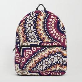 Mandala Flower Bohemian Gypsy Soul Backpack