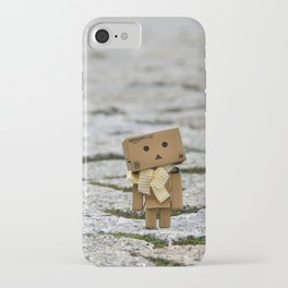 I'm on the world alone and yet not alone enough ... iPhone Case