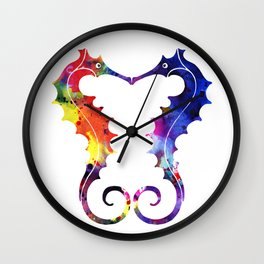 Sea Lovers Wall Clock