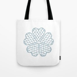 The Waffle Tote Bag