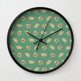 Dumpling Pattern Wall Clock