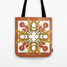 Home Sweet Home Mandala - Fall Colors Tote Bag