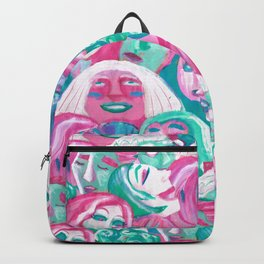 Bright crowd Backpack