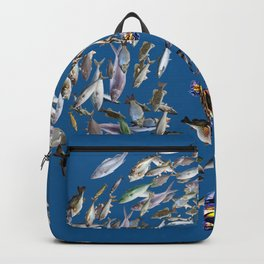 Mermaid in Monaco Backpack