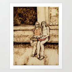 Weekend Together Art Print