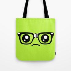 Sad little nerd. Tote Bag