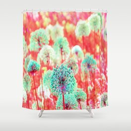 Flowers of Fantasy Shower Curtain