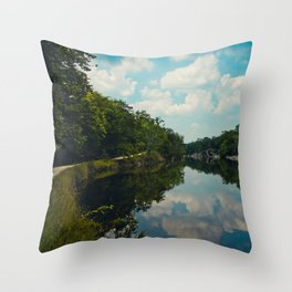 C & O Tow Path Throw Pillow