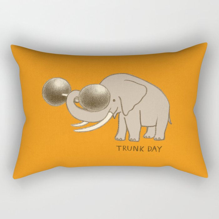 Trunk Day Rectangular Pillow