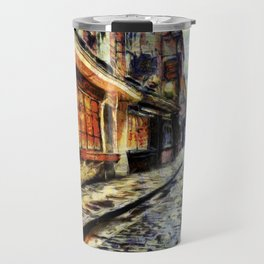 The Shambles York Van Gogh Travel Mug
