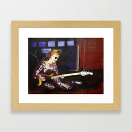 Legendary Female Guitarist: Carol Kaye Framed Art Print