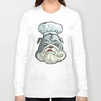 chef Long Sleeve T-shirts featuring Chef by Keyspice