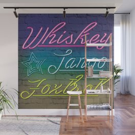 Whiskey Tango Foxtrot Wall Mural