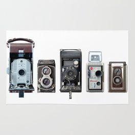 Camera Collection Rug