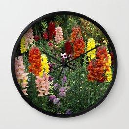 Flowers at the Desert Botanical Garden Wall Clock