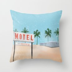 Vacancy Throw Pillow