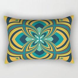 Spiral Rose Pattern B 4/4 Rectangular Pillow
