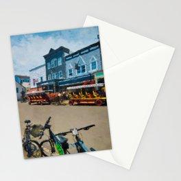 Mackinac Island Downtown Stationery Cards