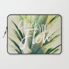 Check Your Flow Laptop Sleeve