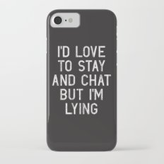 Chat Slim Case iPhone 7