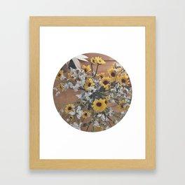 Flowers (yellow/white)  Framed Art Print