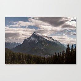 Mount Rundle Canvas Print
