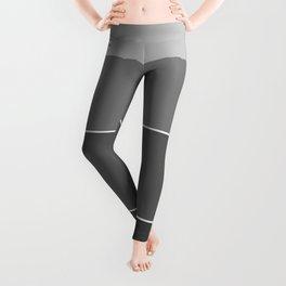 Monochrome + Stripes Leggings